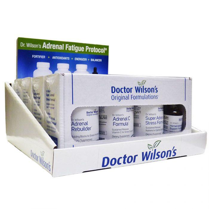 Adrenal Fatigue Protocol Shelf Display