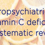 neuropsychiatric effects vitamin c
